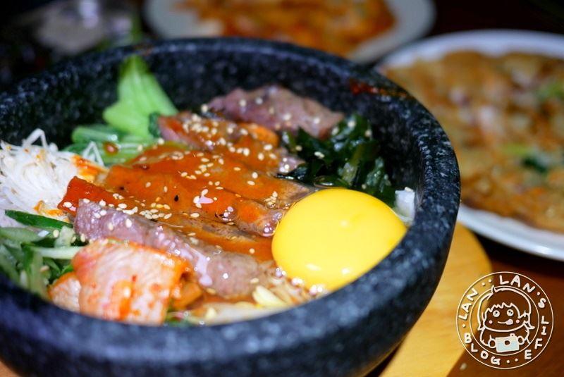 中山韓式料理 【四米大石鍋拌飯專賣】各式石鍋拌飯 海鮮煎餅 等韓式料理 中山聚餐