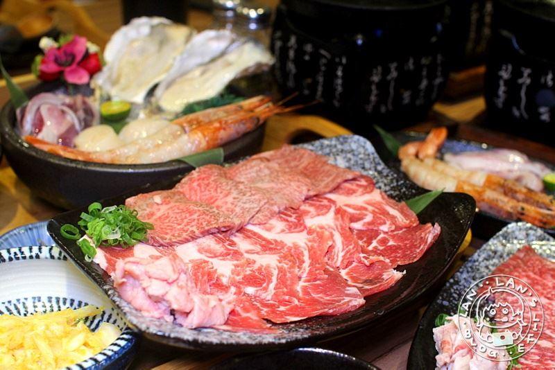 板橋燒肉 【阿彤北和牛海鮮燒肉 板橋江子翠店】精緻一人定食 和牛生食海鮮通通