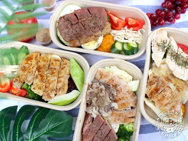 公館健康餐盒 【楽坡Bon Box 公館店】減脂高蛋白便當 健身人的好夥伴 樂坡
