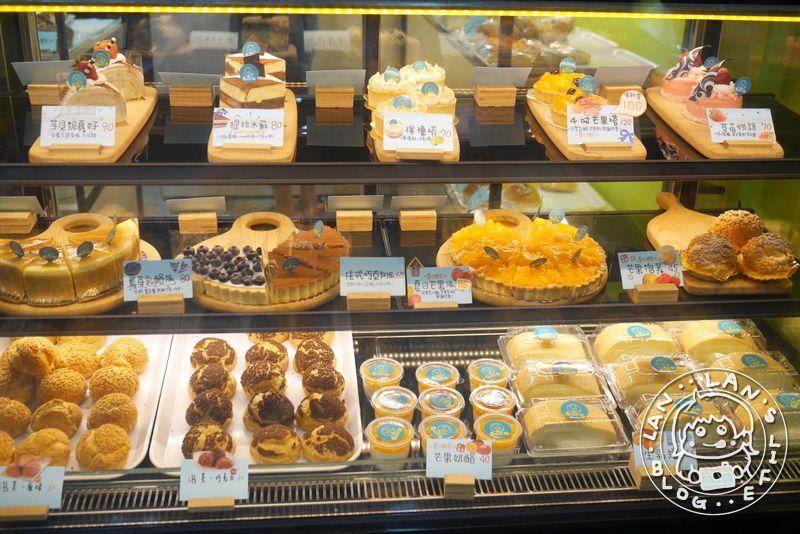 新埔麵包蛋糕店 【Go巴餖烘焙坊】藍莓乳酪、提拉米蘇和檸檬塔等甜點!中式糕餅