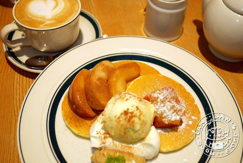 大阪必吃鬆餅 【Gram パンケーキ日本橋店】鬆餅每日限量60份 法式吐司也很推!