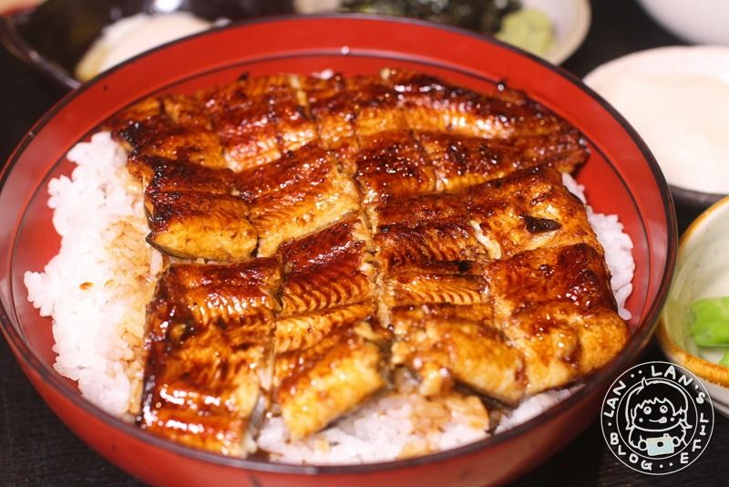 中山鰻魚飯