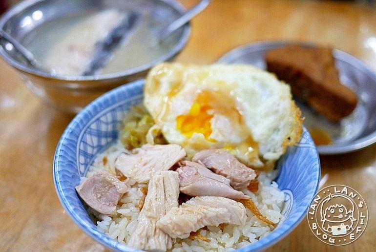 嘉義雞肉飯 【嘉義劉里長火雞肉飯】雞肉片飯 無刺虱目魚湯