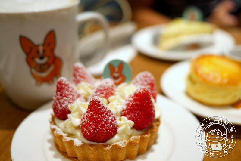 江子翠甜點下午茶 【奶油先生Mr. Butter Café】寵物友善咖啡廳 季節限定草莓塔 各式甜點 麵包烘焙