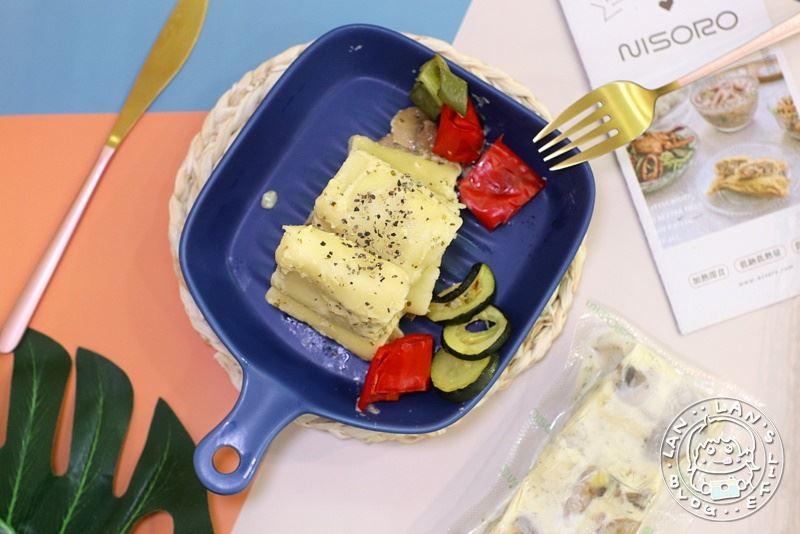 NISORO健康餐開箱【NISORO】義式輕奢生活 松露雞肉麵/奶油海鮮燉飯