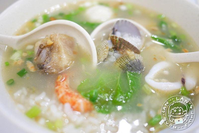 澎湖海鮮粥 【西河堂海鮮粥 小管麵線】清蒸鮮蚵 澎湖在地海鮮味!